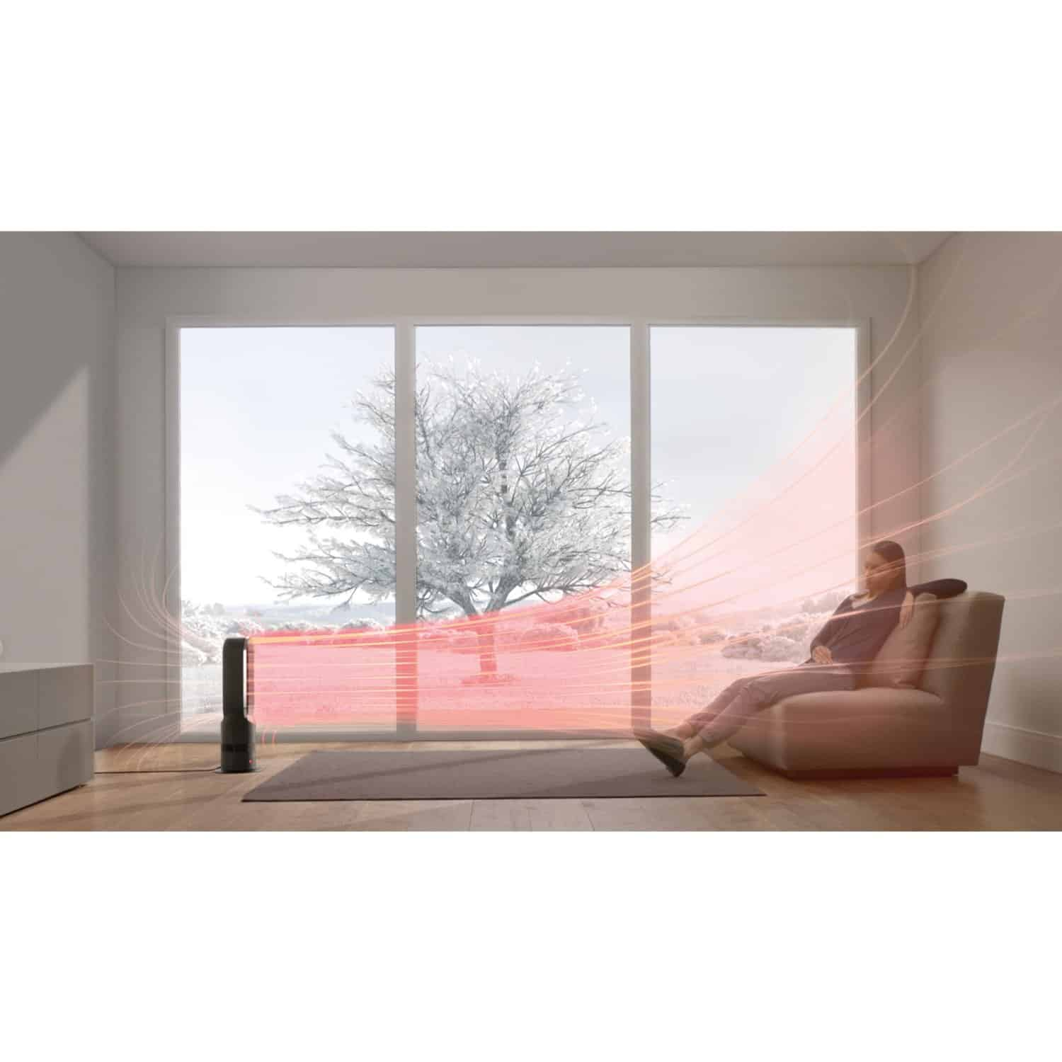 dyson am05 hot cool fan heater reviews and deals. Black Bedroom Furniture Sets. Home Design Ideas