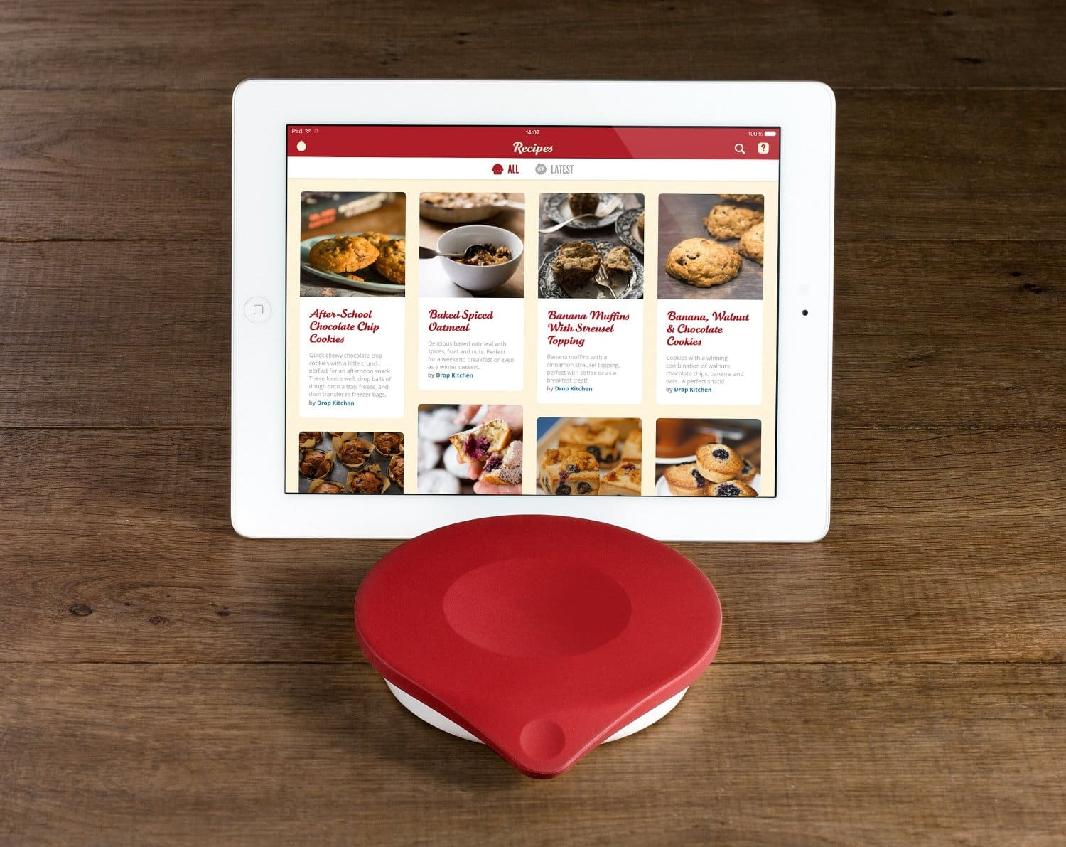 Drop kitchen non slip silicone connected kitchen scale for Drop kitchen scale review