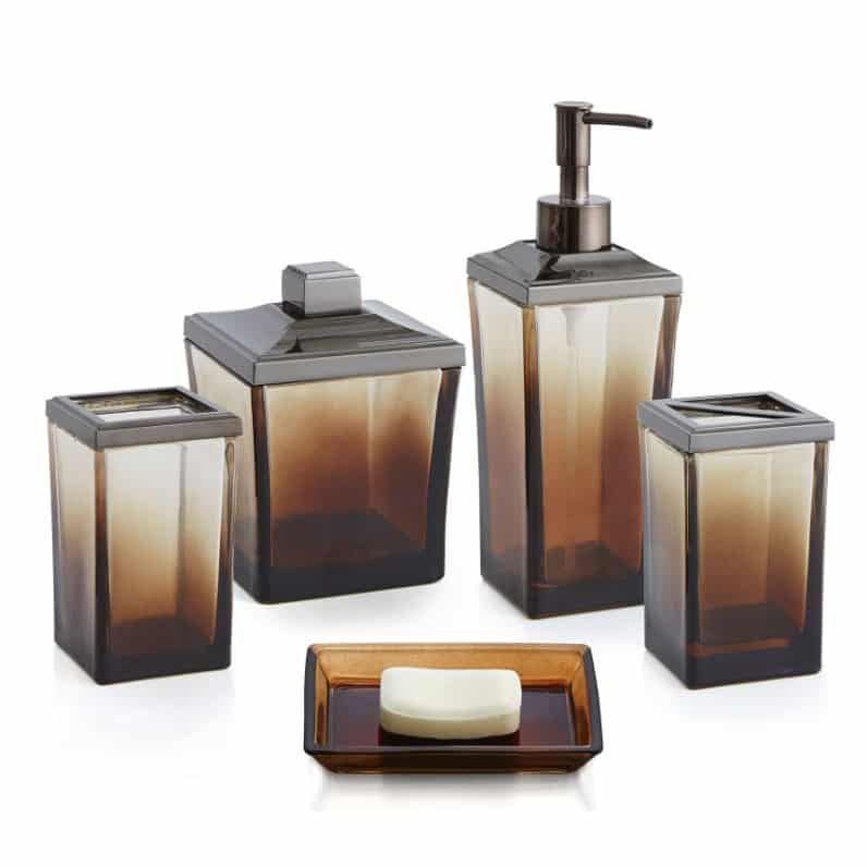 Ombre 5 Piece Bath Accessory Set By Paradigm Trends Reviews And