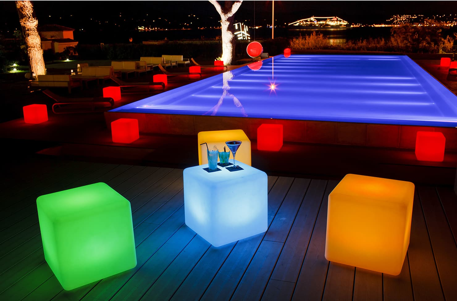 Cube led 1 light deck light cube led 1 light deck light 2 aloadofball Image collections