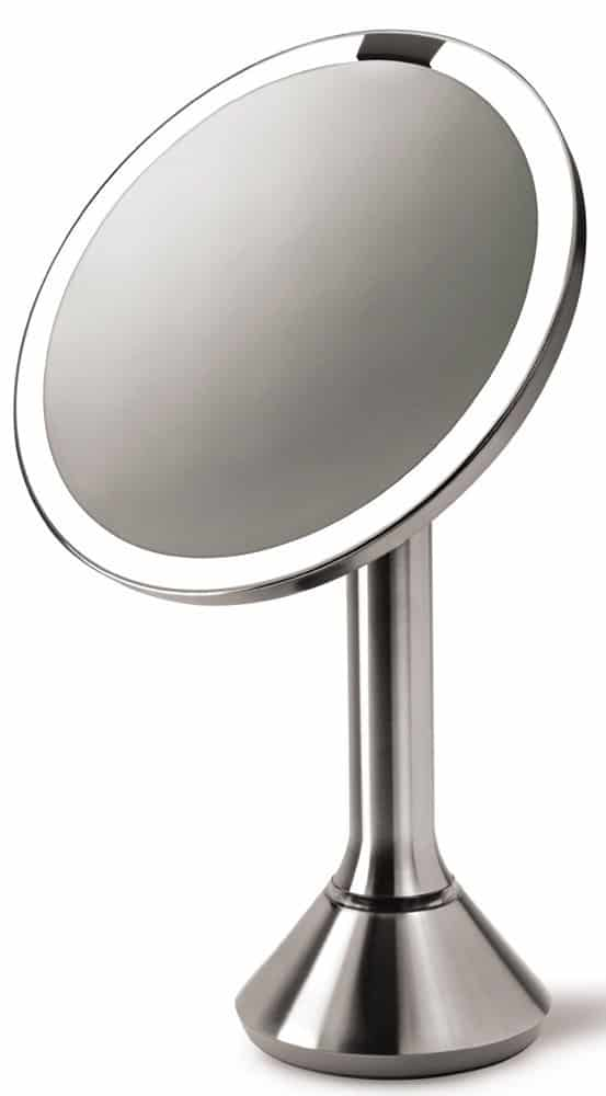 Simplehuman Lighted Makeup Mirror.Simplehuman Sensor Activated Lighted Vanity Mirror Reviews And Deals