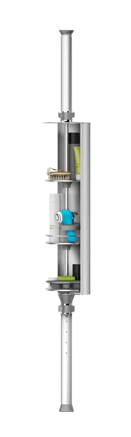 Simplehuman Spin Cabinet Shower Caddy Reviews and Deals