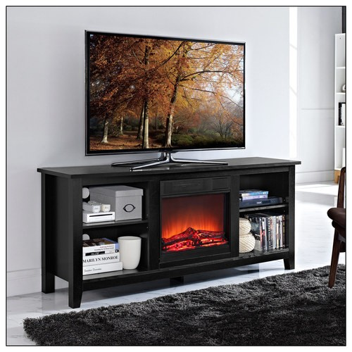Walker Edison Tv Stand With Fireplace Insert Reviews And Deals
