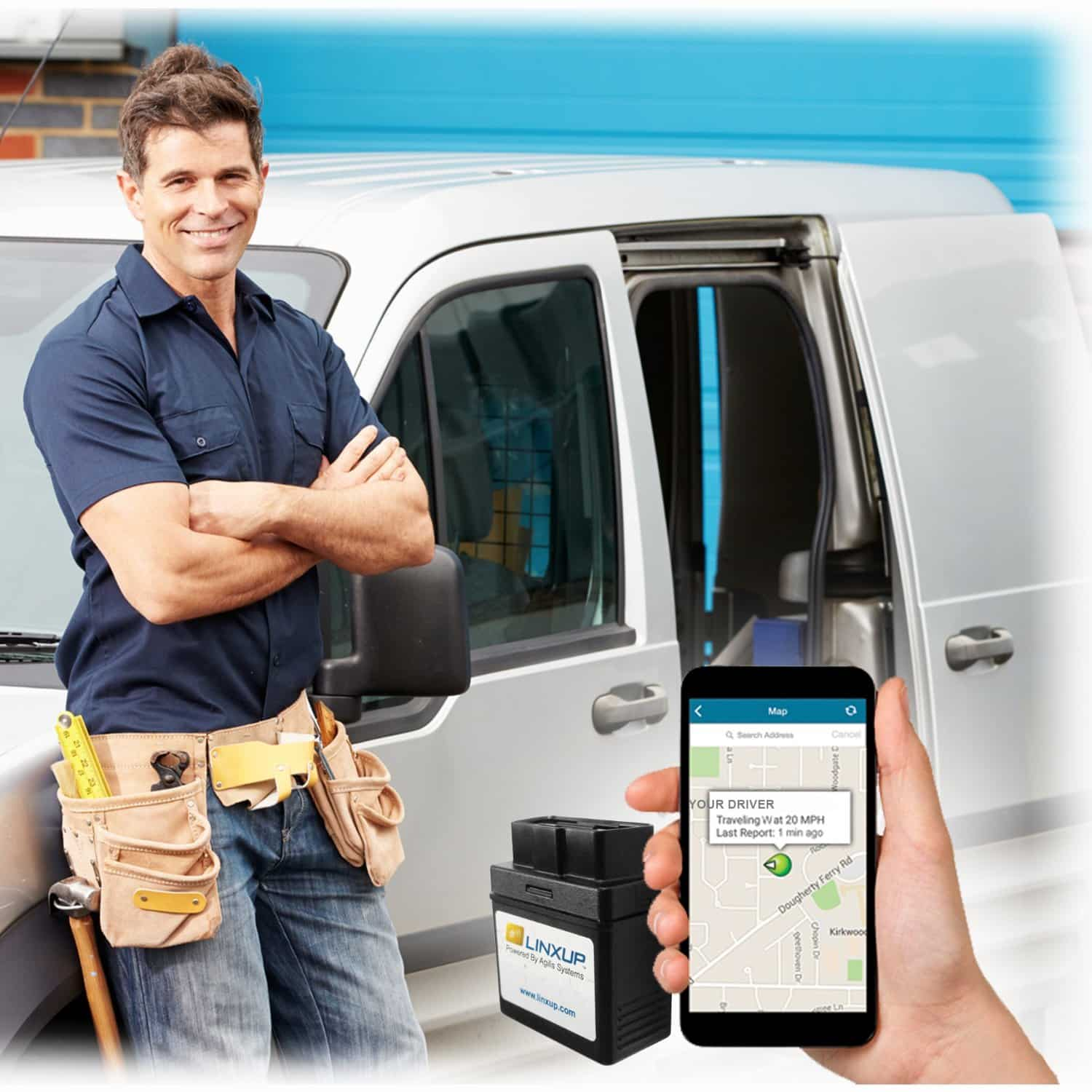 Linxup OBD Vehicle Tracking Device Reviews and Deals