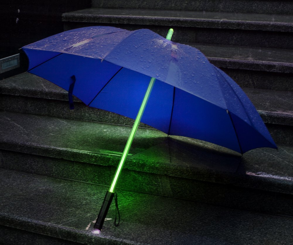Led Patio Umbrella Reviews: Bestkee LED Lightsaber Umbrella Reviews And Deals