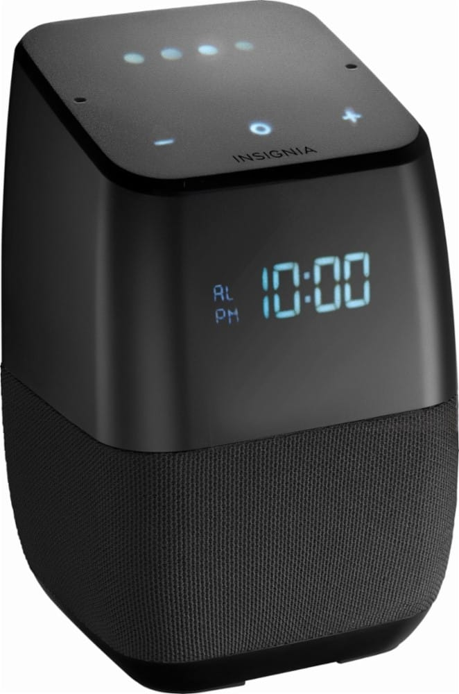 Insignia Voice Smart Bluetooth Speaker with Google Assistant