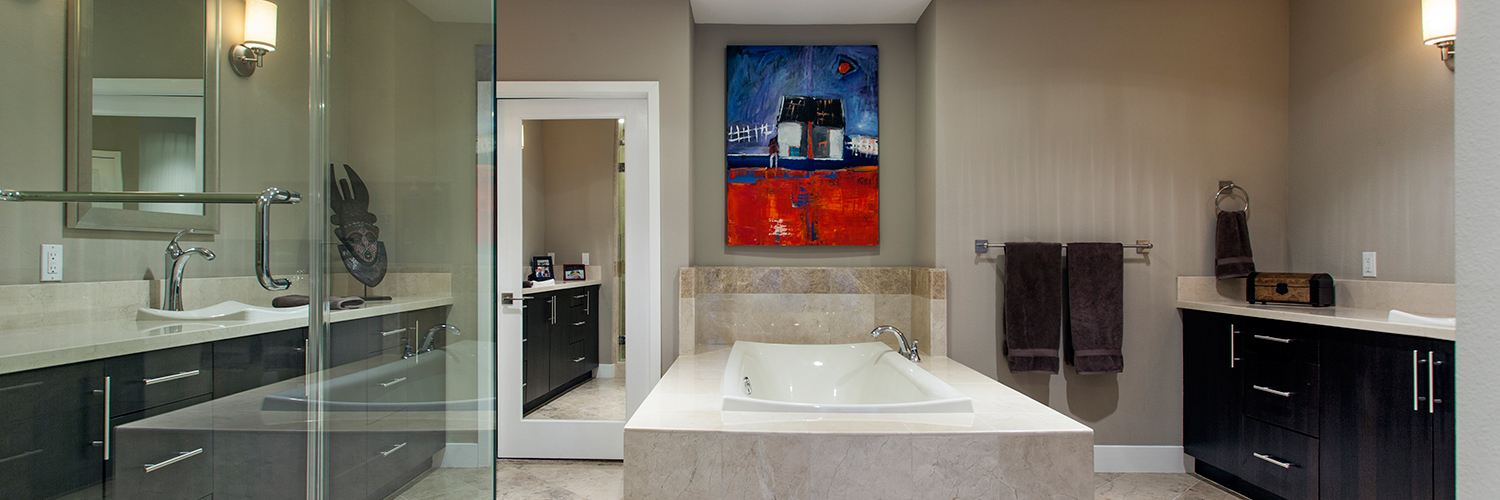 Modern Bathroom in Smart Home